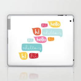 Hi Hello Laptop & iPad Skin