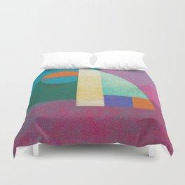 Una Regata Colorata Duvet Cover