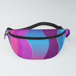 Silky Waves Fanny Pack