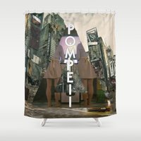 bastille Shower Curtains featuring Bastille - Pompeii by Thafrayer