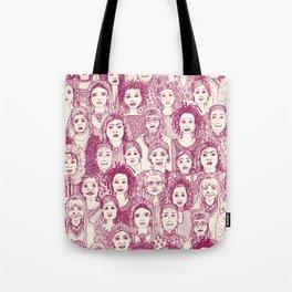 WOMEN OF THE WORLD CHERRY Tote Bag
