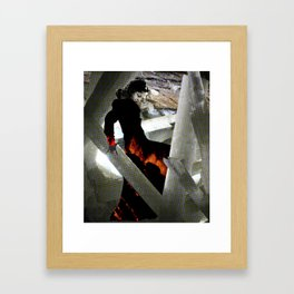 Carbon Amaya Framed Art Print