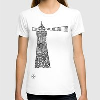 lighthouse T-shirts featuring Lighthouse by Hinterlund