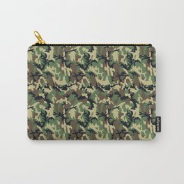 Woodland Camouflage Carry-All Pouch