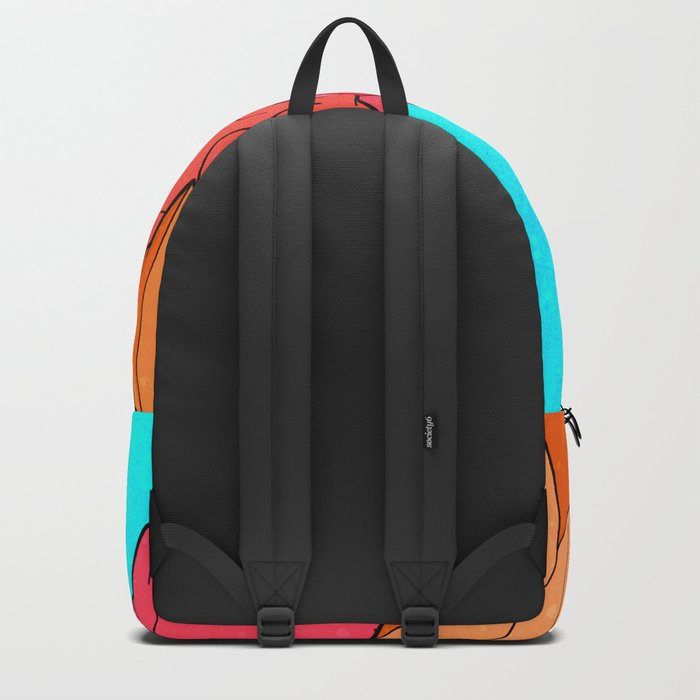The Red and Orange Mounts Backpack