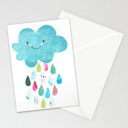 Happy cloud Stationery Cards