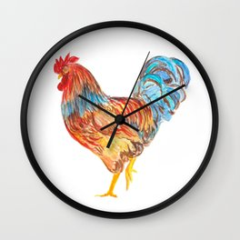 Rooster I Wall Clock