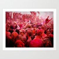 Festival of Colors Art Print