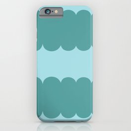 My Humps - Teal on Teal iPhone Case