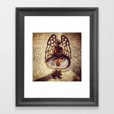 Angel Reflection Framed Art Print
