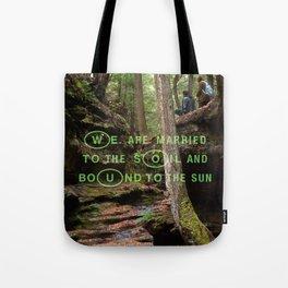 Nature's Travelers Tote Bag