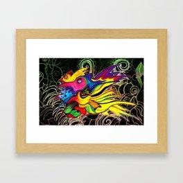 Wild Birds Framed Art Print