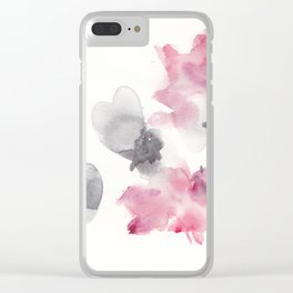 180807 Abstract Watercolour 6| Colorful Abstract |Modern Watercolor Art Clear iPhone Case