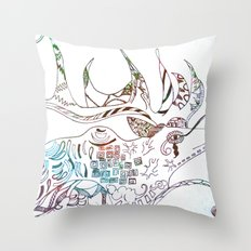 Deer Odd Throw Pillow