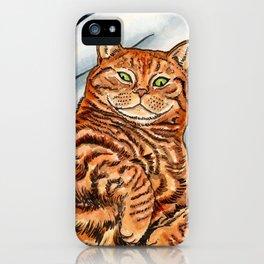 Ginger Cat iPhone Case