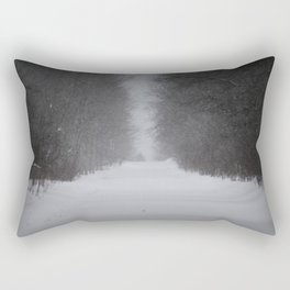 Unknown road Rectangular Pillow