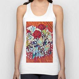 Brighten Your Day Flowers Unisex Tank Top