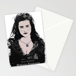 Katie McGrath - Morgana Pendragon color Stationery Cards