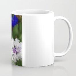 White cornflower Coffee Mug