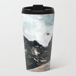 The Ocean Calls (Spring) Metal Travel Mug