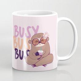 Busy Sloth & Coffee Coffee Mug