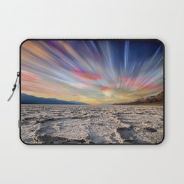 Stopping Time : Colorful Sky Landscape Laptop Sleeve