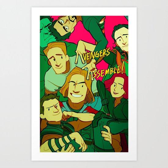 """Say """"Loki"""" Art Print"""