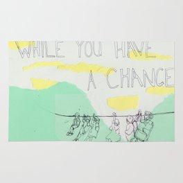 a chance Rug