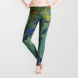 Vincent van Gogh - Irises Leggings