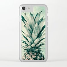 Pineaple 9a Clear iPhone Case
