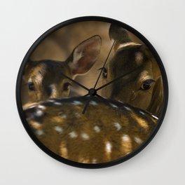 Deer 2 Wall Clock