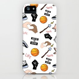 THE HATE U GIVE - PATTERN iPhone Case