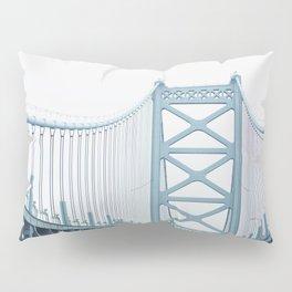 The Ben Franklin Bridge Pillow Sham