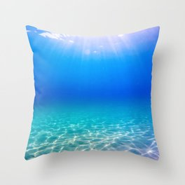 One Deep Breath Throw Pillow