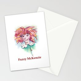 Fuzzy McKenzie Stationery Cards