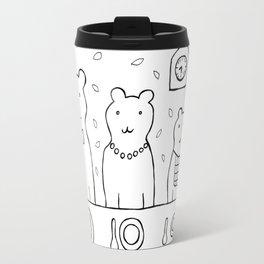Three bears by poppyshome Travel Mug