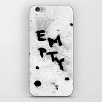 typo iPhone & iPod Skins featuring Typo poster by Petr Skovajsa