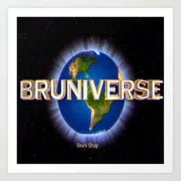 Bruniverse Art Print