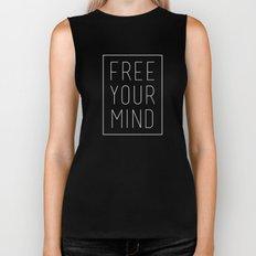 Free Your Mind II Biker Tank