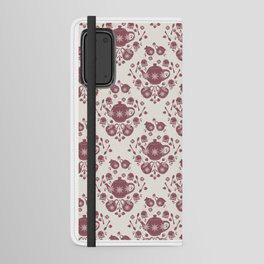 Afternoon Tea Damask Android Wallet Case