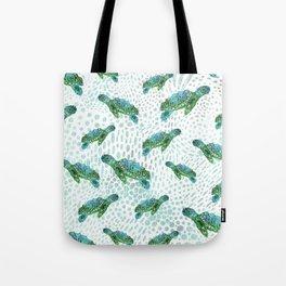 Sea Turtle Squad Tote Bag