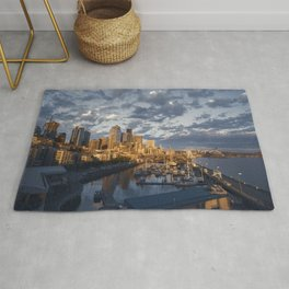 Seattle After Rain Rug