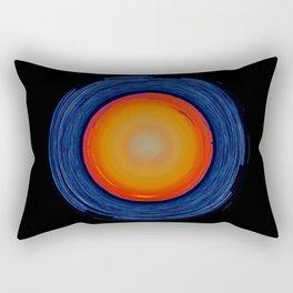 Circular Sunset Rectangular Pillow