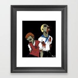 Go team Venture! Framed Art Print
