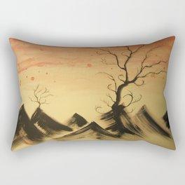 Stygian Tree Rectangular Pillow
