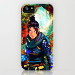 Colorful Skirmisher iPhone Case