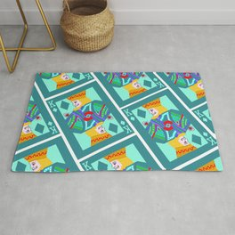 the king and I Rug