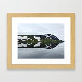 Icelandic Morning Framed Art Print