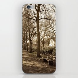 A lonely world iPhone Skin