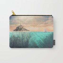 The Real Mont Saint Michel Carry-All Pouch